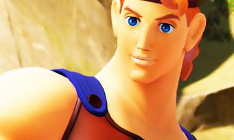 Kingdom Hearts 3 : plein de screenshots héroïques pour présenter Hercule