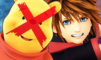 Kingdom Hearts 3 : découvrez pourquoi Winnie l'Ourson est censuré en Chine