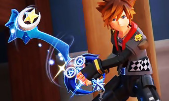 Kingdom Hearts 3 : des Keyblades alternatives montrées en vidéos
