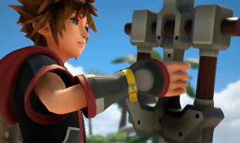 Kingdom Hearts 3 : une vidéo de gameplay qui présente les Keyblades