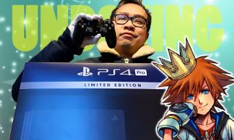 PS4 Kingdom Hearts 3 : notre unboxing de l'un des plus belles consoles