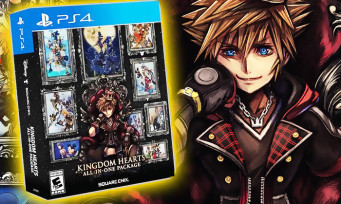 Kingdom Hearts All-in-One Package : une ultime et magnifique compilation PS4