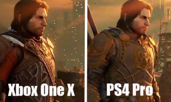 Shadow of War : PS4 Pro VS Xbox One X, le comparatif qui fait mal !