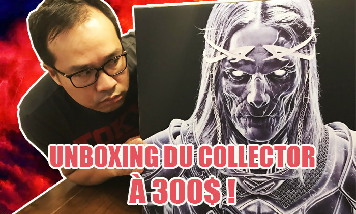 l 39 ombre de la guerre notre unboxing du collector 300 dollars. Black Bedroom Furniture Sets. Home Design Ideas
