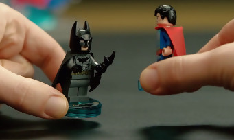 LEGO Dimensions : un trailer pour surfer sur le buzz Batman v Superman