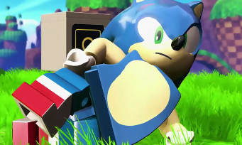 LEGO Dimensions : trailer de gameplay de Sonic en LEGO