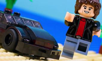 LEGO Dimensions : la mythique voiture K2000 présentée en vidéo