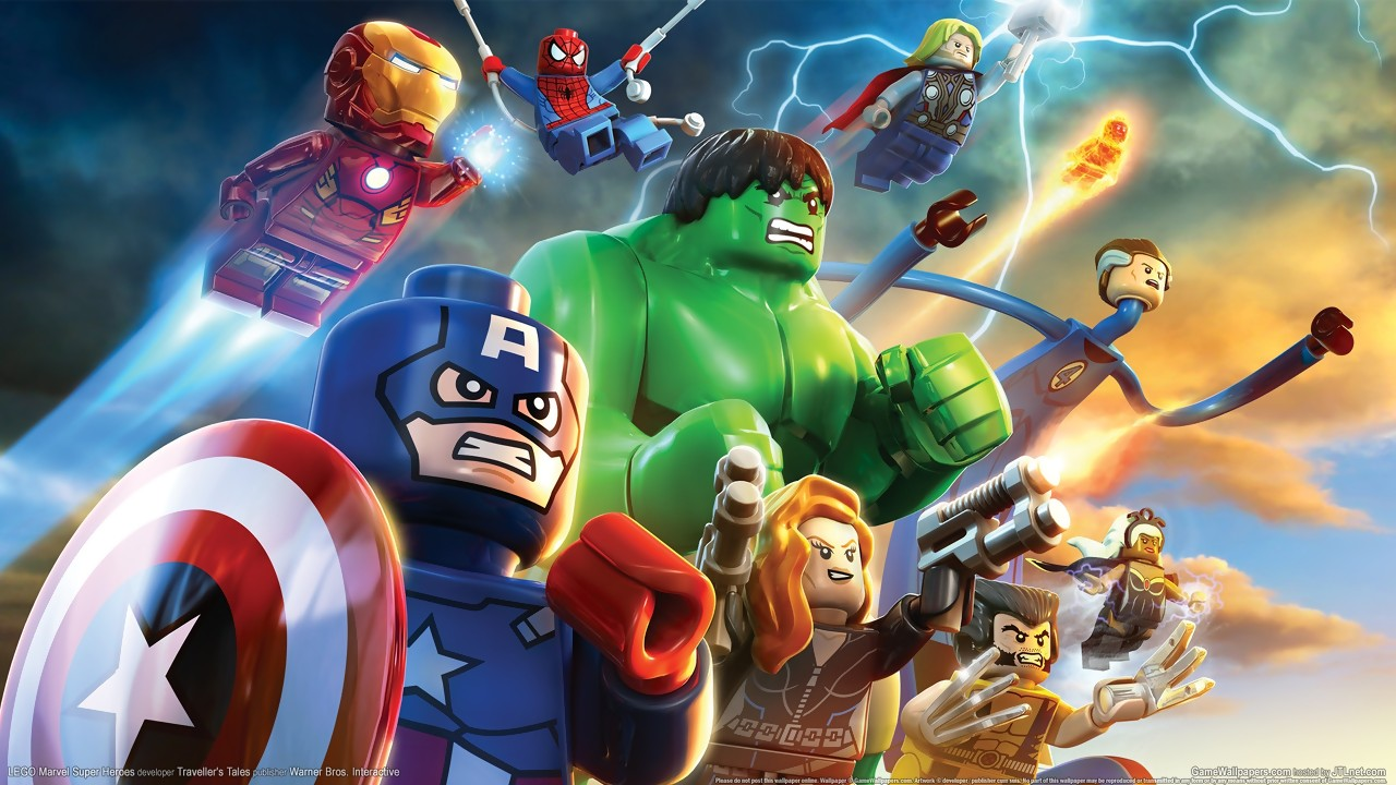 6 Malvorlagen Lego Superheroes: Artworks LEGO Marvel Super Heroes