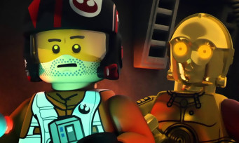 LEGO Star Wars Le Réveil de la Force : trailer de gameplay avec Po Dameron