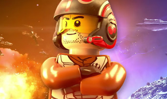 LEGO Star Wars Le Réveil de la Force : Poe Dameron trailer de gameplay
