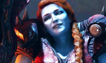 Les Gardiens de la Galaxie : Lady Hellbender (Inferno) face à Star-Lord