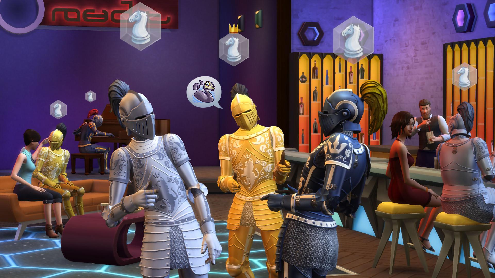Les Sims 4 - Pack d'Extension Vivre Ensemble PC pas cher à ...