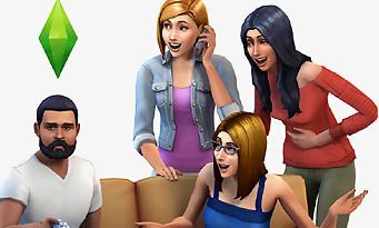 Les Sims 4 : gameplay sur la création des maisons