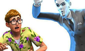 Les Sims 4 : le trailer des Fantômes