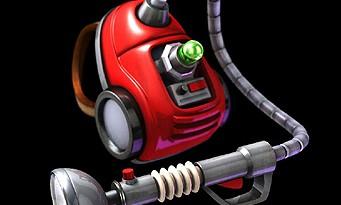 Luigi's Mansion 2 : l'aspirateur Poltergeist 5000 de Luigi en vrai !