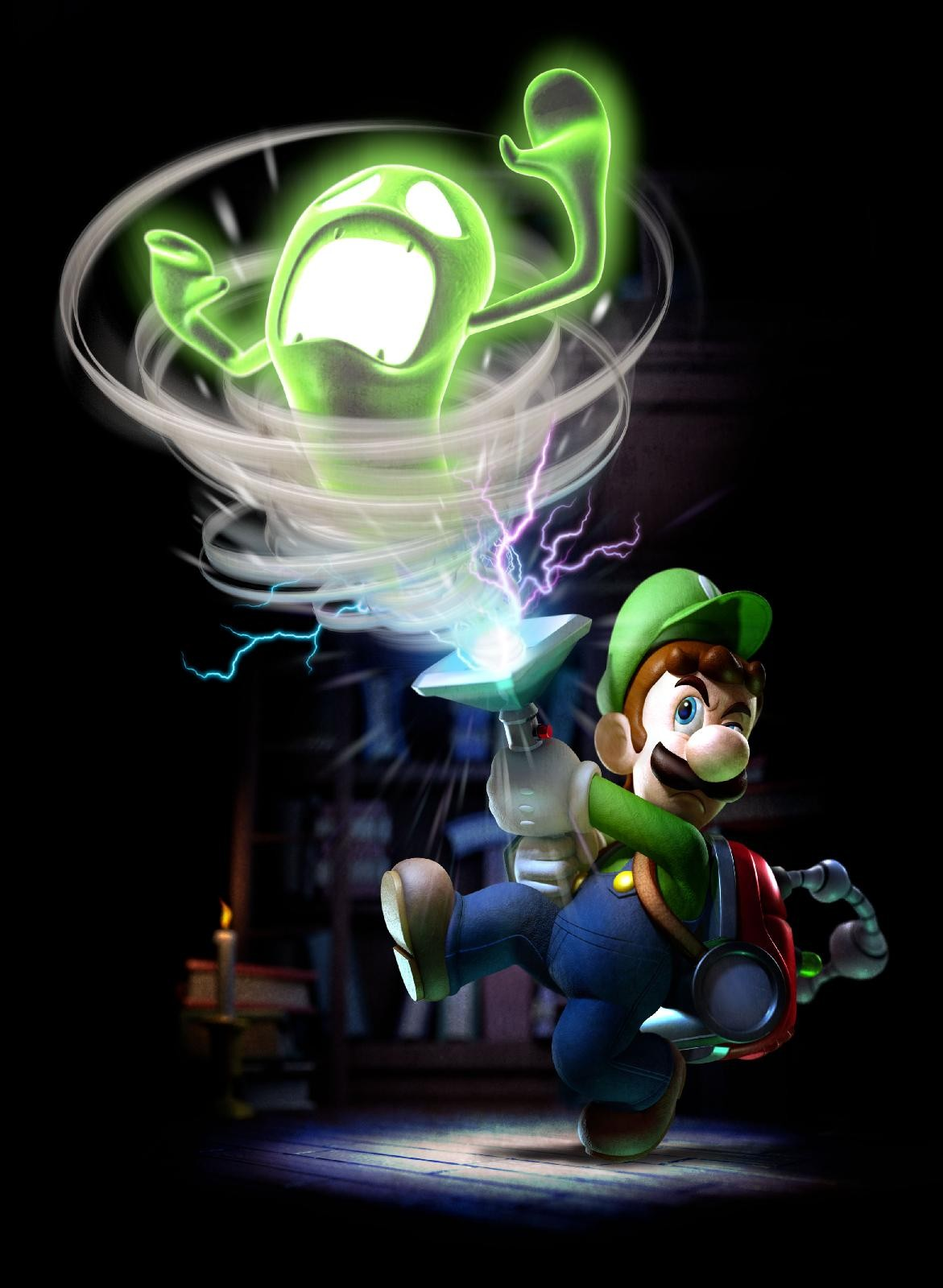 Coloriage Luigi Mansion 2.Artworks Luigi S Mansion 2