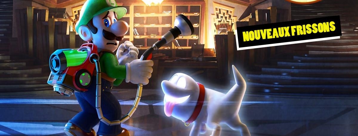 Luigi's Mansion 3 : le jeu à vous rendre vert de peur ?