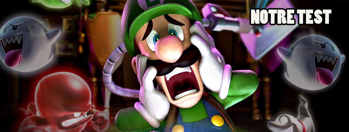 Test Luigi's Mansion (3DS) : quand le passé revient nous hanter