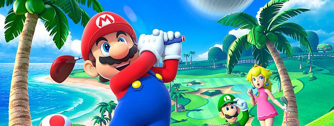 Test Mario Golf World Tour sur 3DS