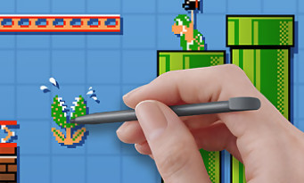 Super Mario Maker : le trailer de gameplay de l'E3 2015