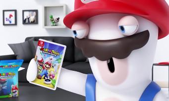 Mario + The Lapins Crétins : l'unboxing du collector par un lapin crétin