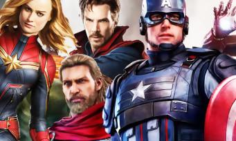 Marvel's Avengers : 15 persos trouvés dont Dr. Strange et Captain Marvel