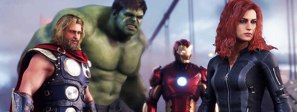 Marvel's Avengers : 20 min de gameplay en 4K qui cognent fort