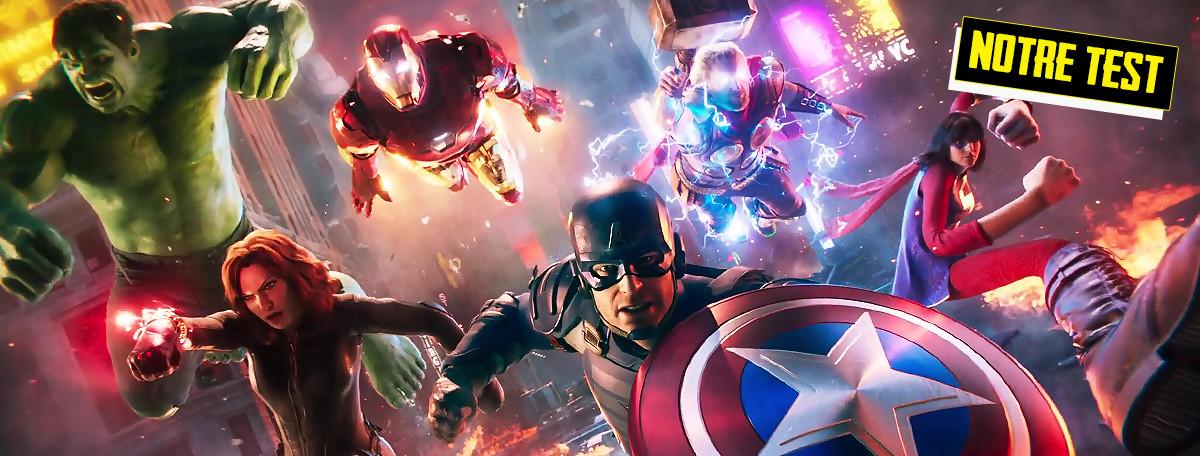 Test Marvel's Avengers : rassemblés, oui, mais pas bien organisés