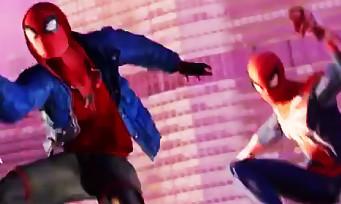 Spider-Man : l'Araignée s'affiche avec Miles Morales pour la première fois