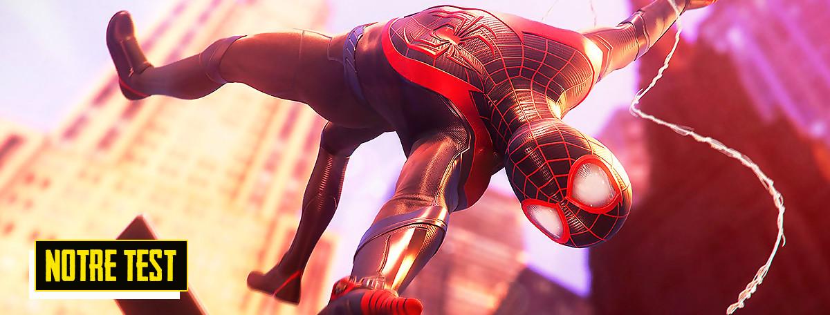 Test Spider-Man Miles Morales : une entrée explosive dans l'ère PS5 ?