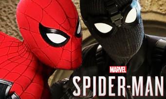 Spider-Man : les 2 costumes de Far From Home débarquent dans le jeu