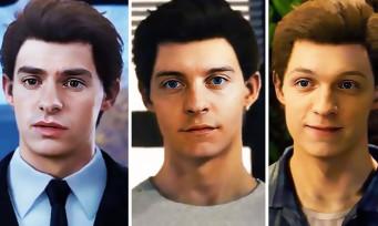 Deepfake : il remplace le Spider-man de la PS4 par les visages de Tom Holland, A