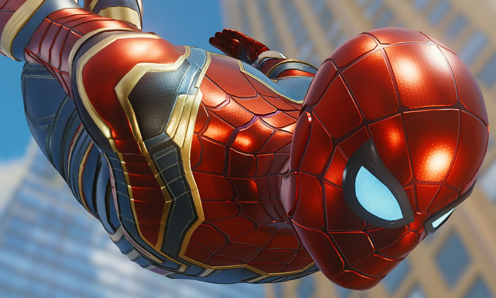 Spider man : une vidéo pour célébrer la sortie du jeu sur ps4