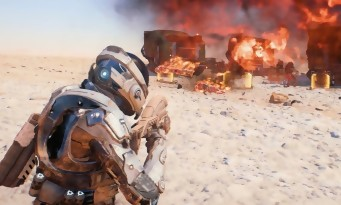 Mass Effect Andromeda : trailer de gameplay des combats