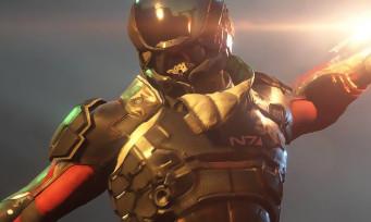 Mass Effect Andromeda : une vidéo de gameplay datant de 2014 a fuité !