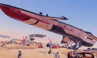 Mass Effect Andromeda : trailer du vaisseau et du quad