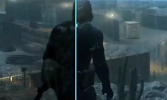 Metal Gear Solid 5 Ground Zeroes : une vidéo comparative des versions old et nex