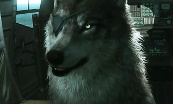 Metal Gear Solid 5 The Phantom Pain : un loup accompagnera Snake