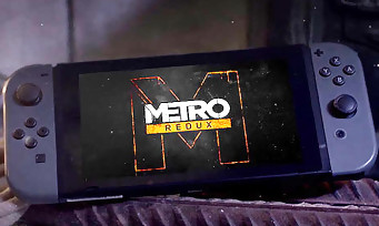 Metro Redux : la série arrive sur Nintendo Switch, la preuve en vidéo