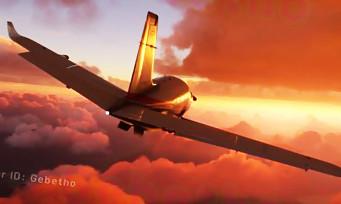 Microsoft Flight Simulator : nouvelles images la tête dans les nuages