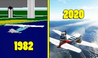 Microsoft Flight Simulator : une vidéo revient sur tous les opus de la saga