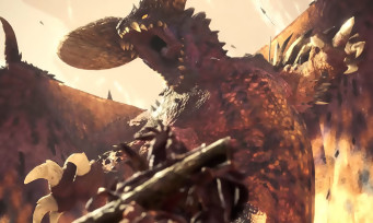 Monster Hunter World : un trailer de gameplay avec le Nergigante