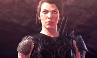 Monster Hunter World : Milla Jovovich jouable dans le jeu, la preuve en vidéo