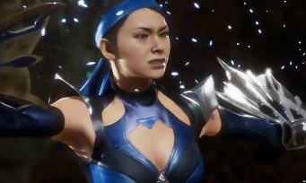 Mortal Kombat 11 : trailer de gameplay de Kitana