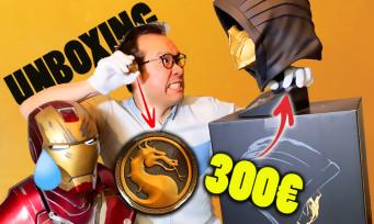 Mortal Kombat 11 : notre unboxing du Kollector à 300€ + goodies exclusifs