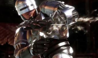 Mortal Kombat 11 : une nouvelle vidéo avec RoboCop qui pète