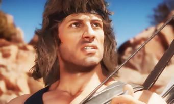 Mortal Kombat 11 : Rambo explose des crânes en trailer