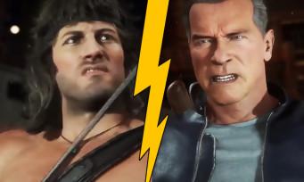 Mortal Kombat 11 :  du gameplay brutal opposant Rambo à Terminator !