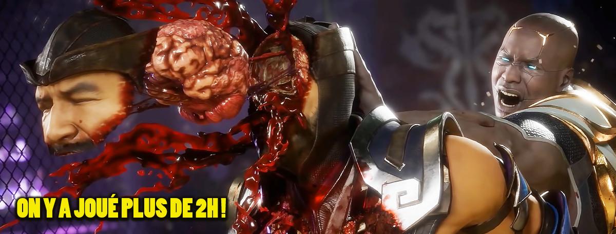 Mortal Kombat 11 : moins violent, plus stratégique ? Notre analyse après 2h de h