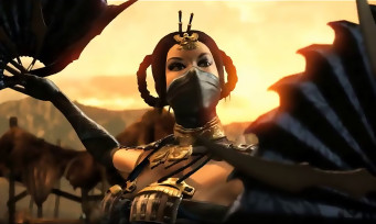 Mortal Kombat X : gameplay trailer Kitana et Kung Lao